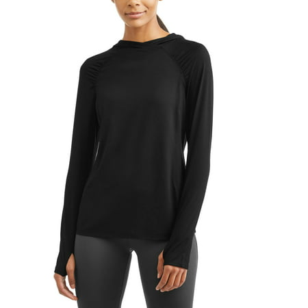 8475b5bbb59 ... UPC 739754587634 product image for Danskin Now Women s Active  Perfomance Layering Hoodie With Thumbholes