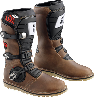 Gaerne Balance Motorcycle Boots Oiled Brown 10  2522-013-010