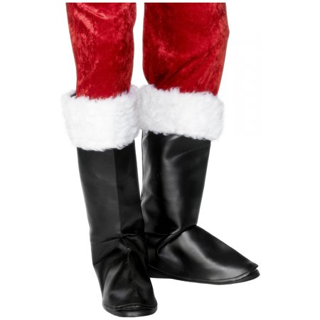 Santa Boot Covers Adult Costume Accessory