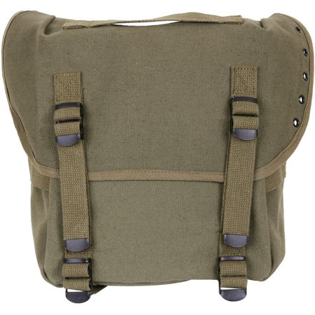 GI Style Canvas Enhanced Army Military Hiking Olive Drab Green Camo Butt