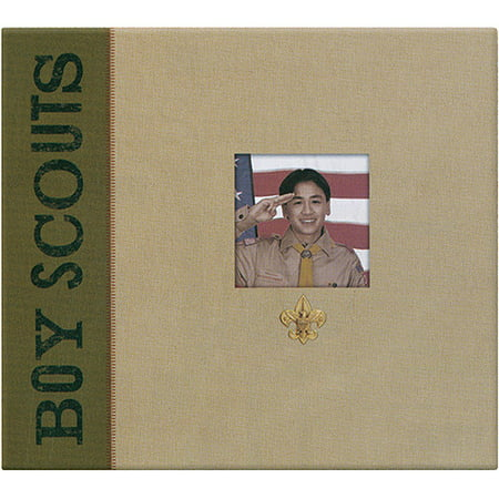 Kcompany Boy Scouts Of America Windowmetal Emblem Scrapbook 12 X