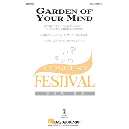 Hal Leonard Garden of Your Mind 2-Part by Fred Rogers arranged by Tom Anderson - Rogers Garden Halloween