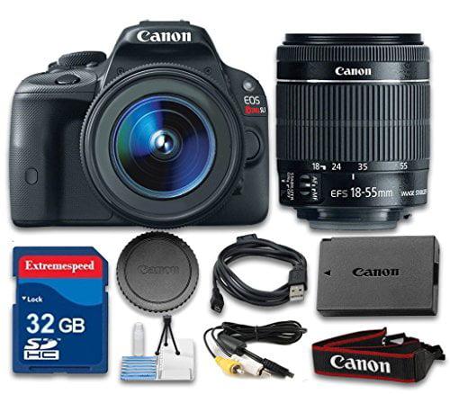 Canon EOS Rebel SL1 Digital SLR Camera with Canon EF-S 18...