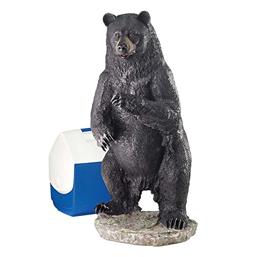 Park Avenue Collection Large Fishing For Trouble Bear