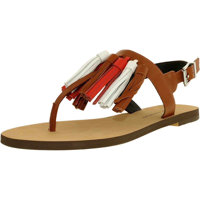 Rebecca Minkoff Women's Erin Leather Chestnut Ankle-High Sandal - 7M