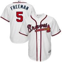 Freddie Freeman #5 Atlanta Braves Majestic Big & Tall Cool Base Player Jersey - White