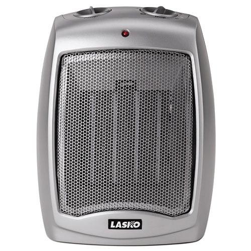 Lasko Ceramic Heater W Adjustable Thermostat Walmart Com Walmart Com