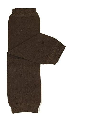 ALLYDREW Solid Baby Leg Warmer & Solid Toddler Leg Warmer for Boys & Girls (Solid Brown)