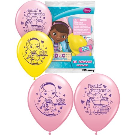 Set of 6 Doc McStuffins 12
