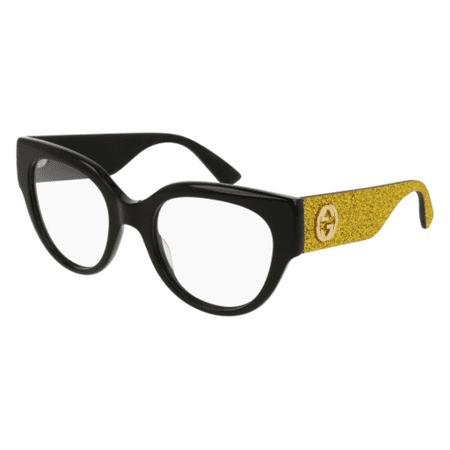 Eyeglasses Gucci GG 0103 O- 002 BLACK / - Gucci Womens Eyeglasses