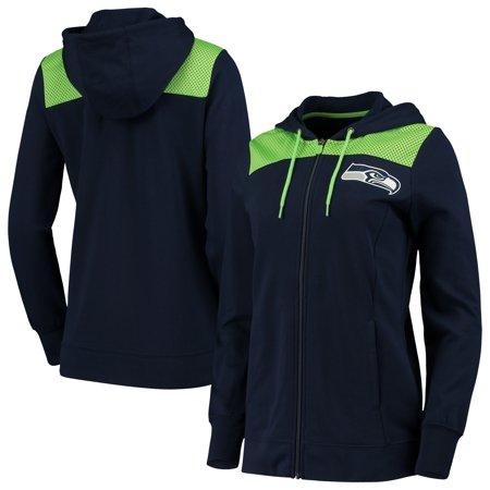 Seattle Seahawks Fanatics Branded Women's Team Best Full-Zip Hoodie - College
