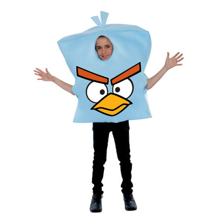 Angry Birds Space Ice Child Halloween Costume, One size, Up to 12](Child Bird Costume)