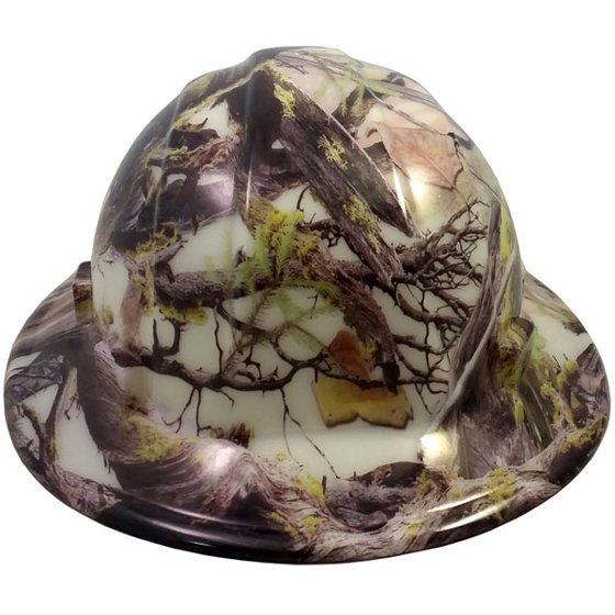 Hydro Dipped GLOW IN THE DARK Hard Hats Full Brim Style with Ratchet  Suspensions - Walmart.com 3d27acb7a066
