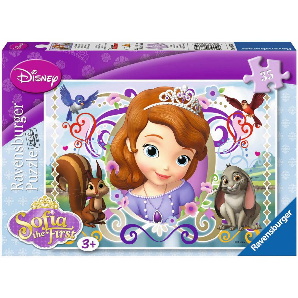 Sofia the First Best Friends 35 Piece Puzzle