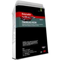 Bondo Fiberglass Resin, 00404, 0.9 Gallon