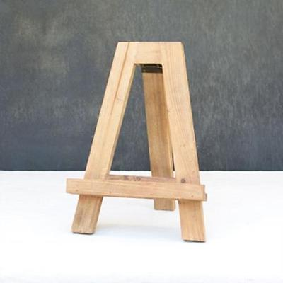 Tabletop Easel, Rustic Wooden Display Stand, 12.75 Inch