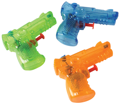 "Water Guns 4"""" Case Pack 10 by US Toy Company"