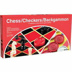 Chess/Checkers/Backgammon Set
