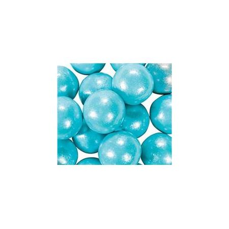 Large Shimmer Light Blue Gumballs