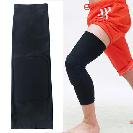 1 Pc Honeycomb Pad Crashproof Antislip Basketball Leg Knee Protector Sleeve, Kneepad - Walmart.com