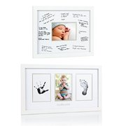 """Maven Gifts: Pearhead Signature Frame, White with Pearhead \My Little Prints\"""" Frame"""""""