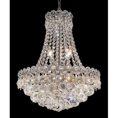 Elegant Lighting Century 8 Light Chandelier