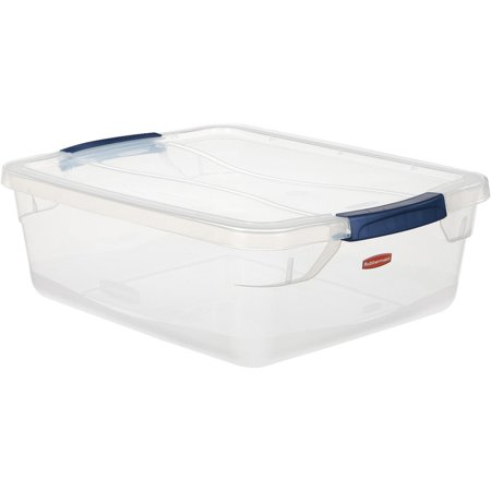 United Solutions 15 Quart Latching Lid Storage Tote