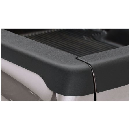 Bushwacker 00-04 Dodge Dakota Fleetside Bed Rail Caps 63.0in Bed - Black