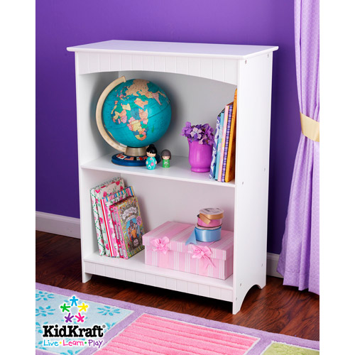 KidKraft Nantucket 2-shelf Bookcase White by KidKraft