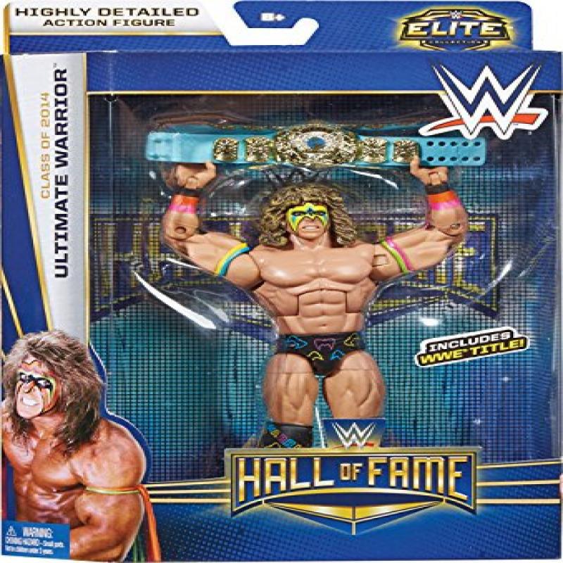 WWE Wrestling Elite Collection Hall of Fame Ultimate Warrior 6' Action Figure