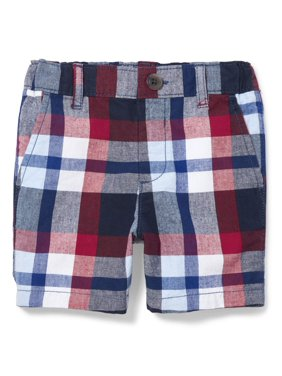 887e41f795 Product Image The Children's Place Toddler Boys All Around Plaid Print  Chino Shorts (Toddler Boys)