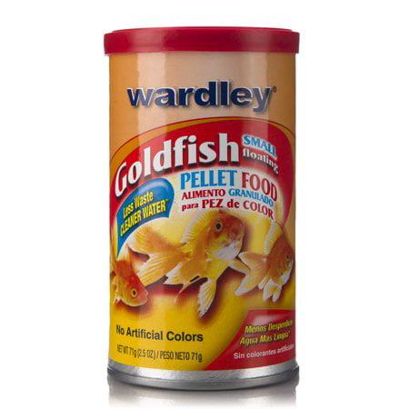 (3 Pack) Wardley Goldfish Pellets, Goldfish Food- (Hikari Goldfish Pellets)