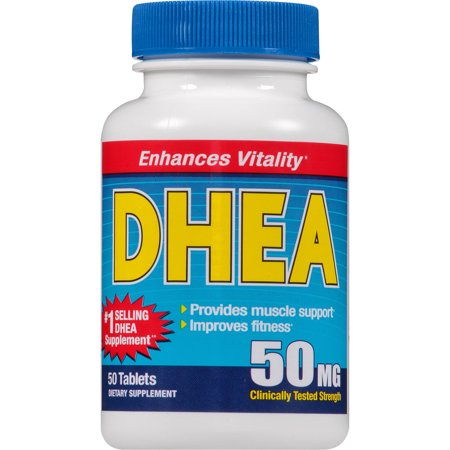 DHEA Dietary Supplement Tablets, 50 count - Walmart.com