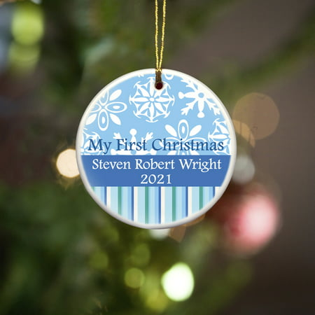 Personalized Ornament Christmas Ornament My First Christmas