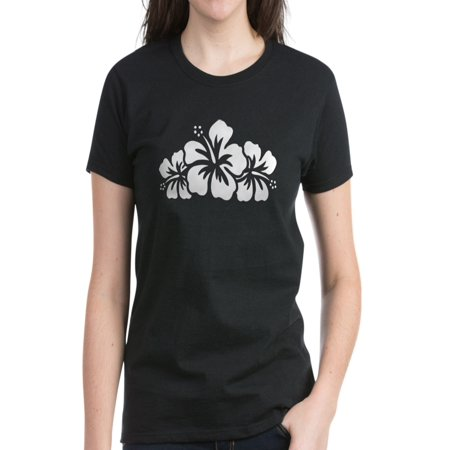 - CafePress - Hawaiian Flower - Women's Dark T-Shirt