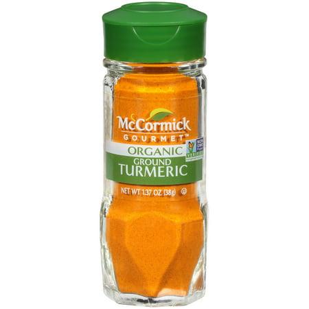 McCormick Gourmet All Natural Ground Turmeric, 1.37 oz
