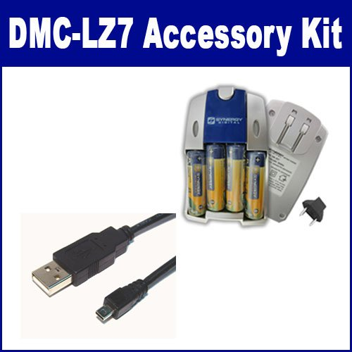 WeGuard USB Cable Cord Lead for Panasonic Lumix DMC-LZ2 DMC-LZ4 DMC-LZ10 DMC-FZ15 Camera