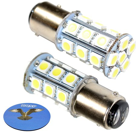 - HQRP 2-Pack BAY15d LED Light Bulb for Hella Marine Series 2984 2LT 002 984-321 / 2LT 002 984-811, Series 2984 2 NM Tri-colour Lamp, Series 2984 3 NM Stern Lamp, 10-30V DC Marine Navigation + Coaster