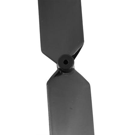 Pair 3.25 x 2 Inches Black 2-Vanes Flat Prop Propeller for RC Aircraft - image 1 de 2