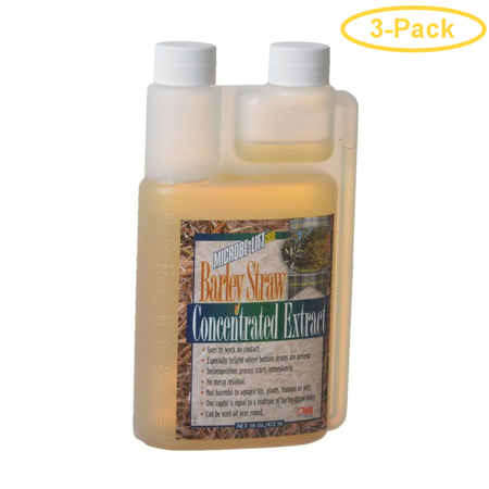 Microbe-Lift Barley Straw Concentrated Extract 16 oz - Pack of 3 (Barley Straw Concentrated Extract)