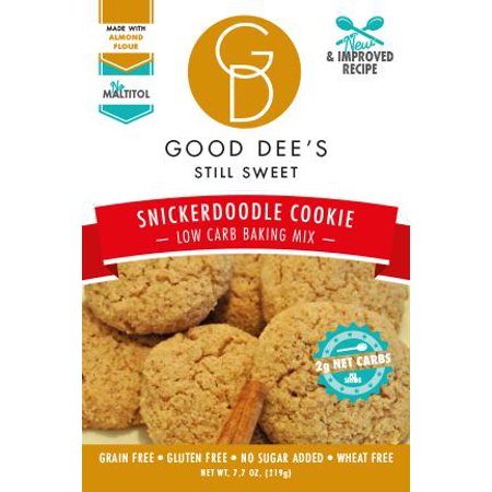 Good Dees Snickerdoodle Cinnamon Cookie Mix Low Carb  Gluten Free  And Sugar Free