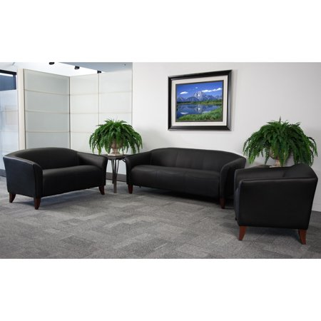 Flash Furniture Hercules Imperial Series 3 Piece Leather Reception Set ()