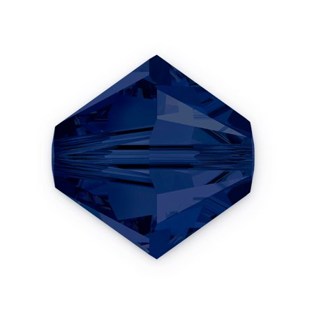 Swarovski Crystal Bicone Beads 5301 4mm Dark Indigo (Package of 10)