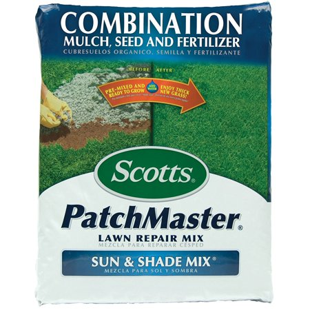 14921 PatchMaster Sun Shade 4.75-Pound Bag, All-in-one product contains everything consumers need to repair bare spots..., By Scotts Ship from (Best Lawn Repair Product)