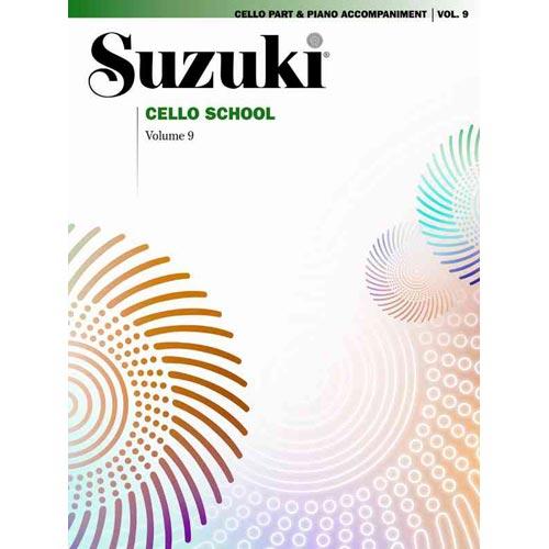 Suzuki Cello School: Cello Part and Piano Accompaniment