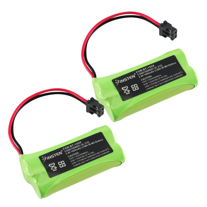Insten 2x Uniden BT-1008 BT1008 Cordless Home Phone Battery