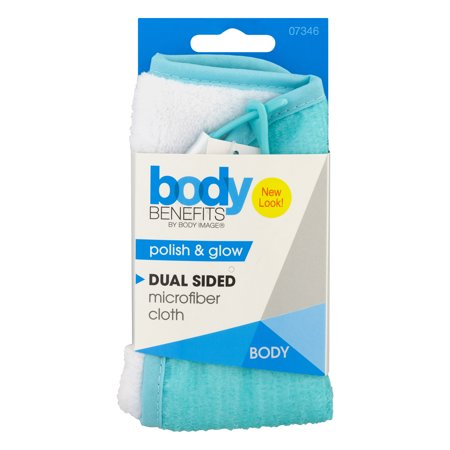 Body Benefits By Body Image Dual Sided Microfiber Cloth, 1.0 CT (Body Benefits)
