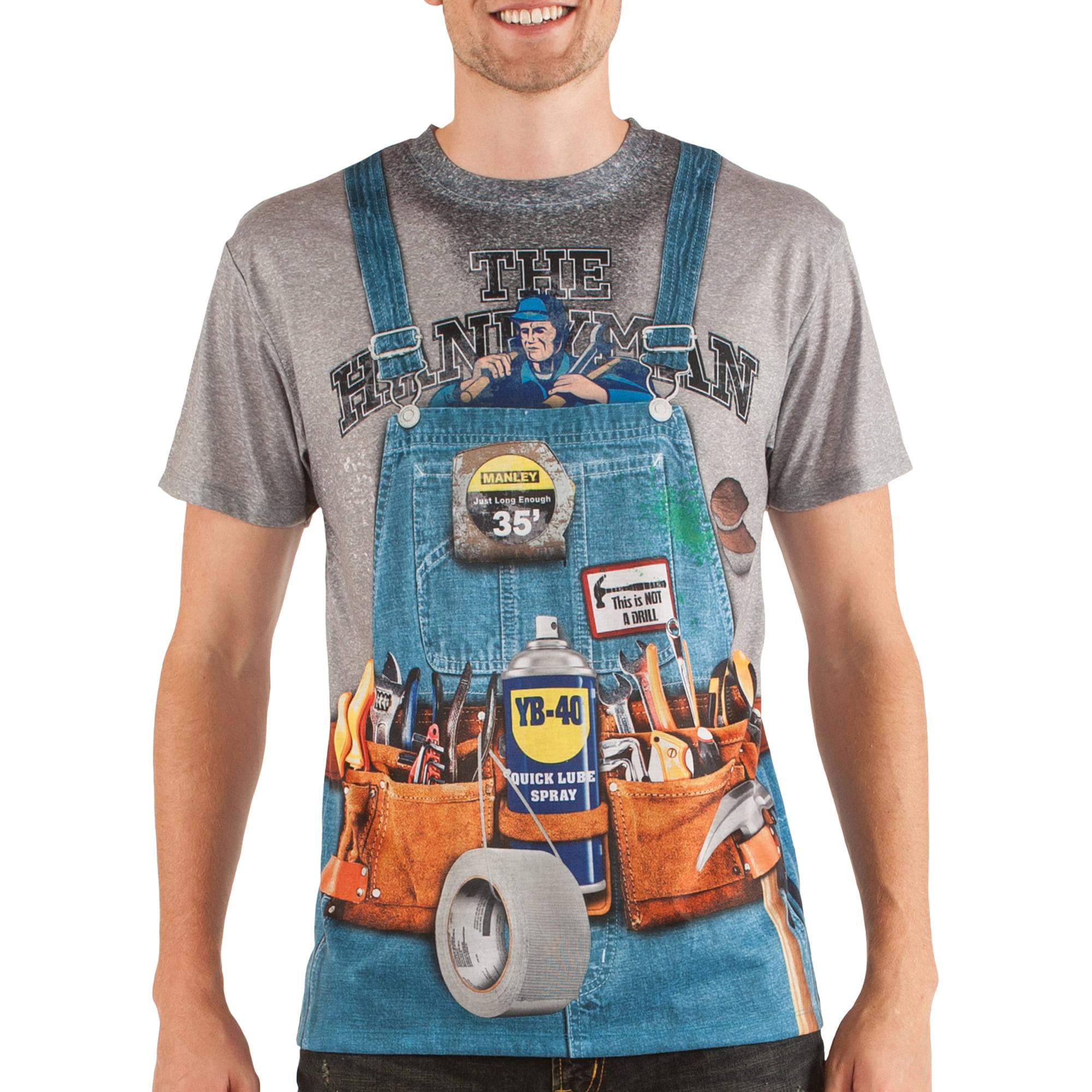 Handyman Men's Short Sleeve Tee Shirt