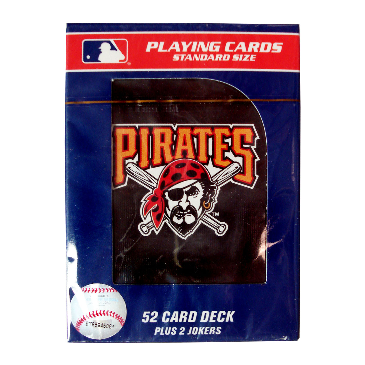 MLB Pittsburgh Pirates Official Playing Cards