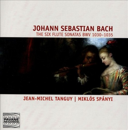 BACH: THE SIX FLUTE SONATAS by